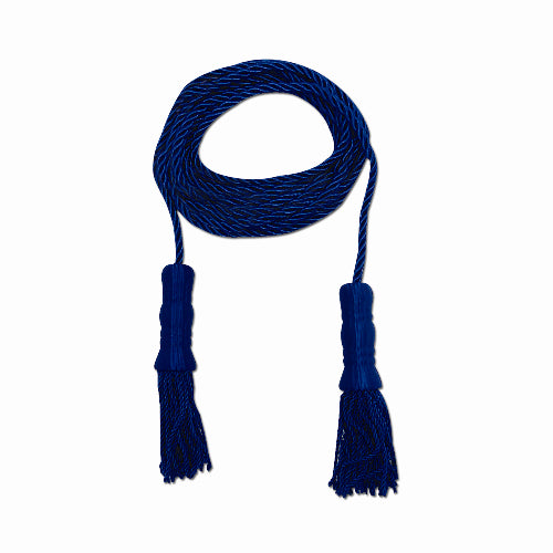 BLUE CORD AND TASSEL
