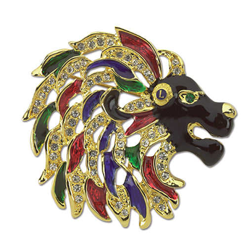 LION HEAD PIN