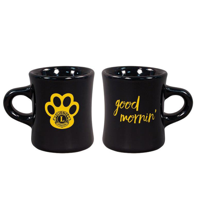 GOOD MORNIN PAW PRINT MUG