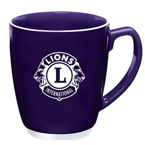 BISTRO ACCENT PURPLE MUG 20 OZ