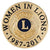 WOMEN IN LIONS LAPEL PIN