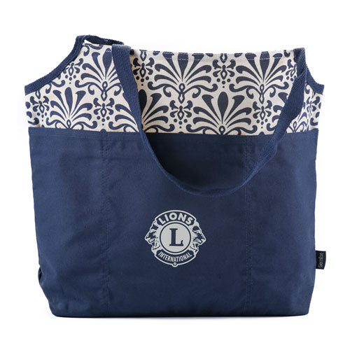 TORI COTTON FASHION TOTE