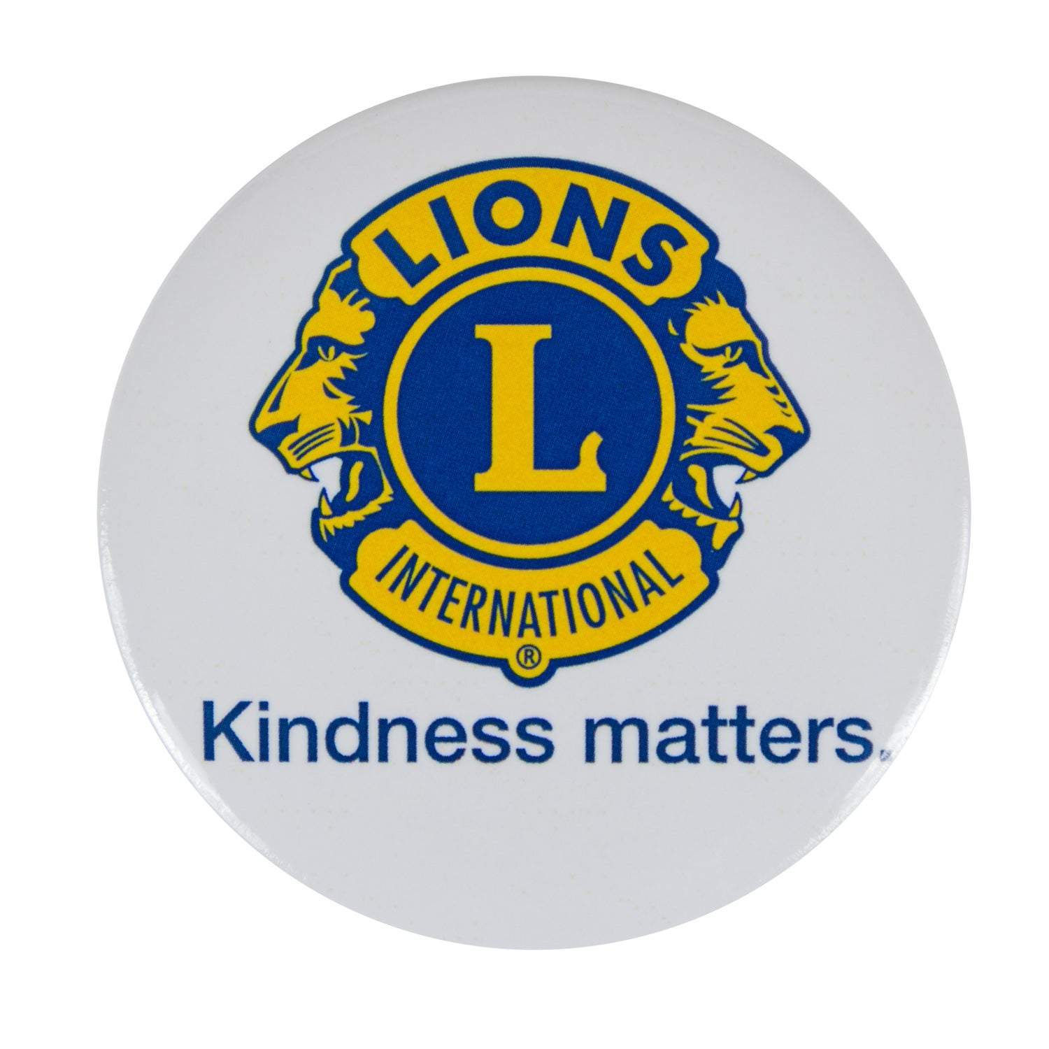 KINDNESS MATTERS BUTTON 10/PCK