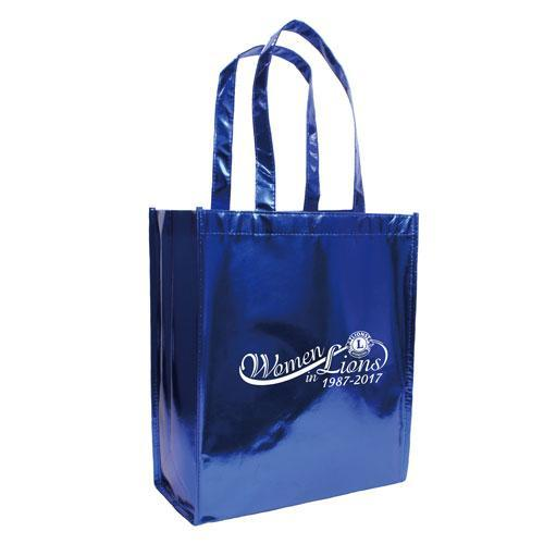 WOMEN IN LIONS METALLIC TOTE