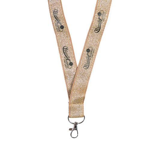 WOMEN IN LIONS GLITTER LANYARD