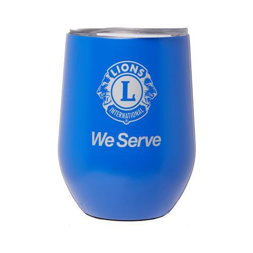WE SERVE STAINLESS STEEL MUG