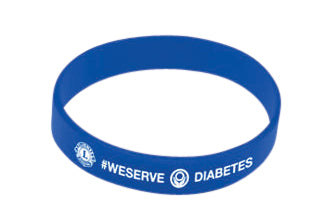 DIABETES AWARENESS WRIST BAND