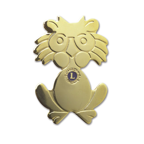 CARICATURE LIONS PIN