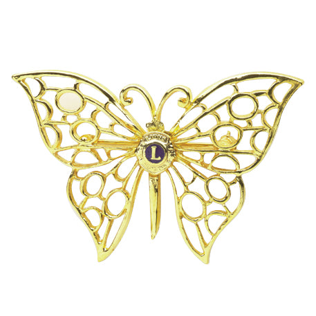 FILIGREE BUTTERFLY PIN