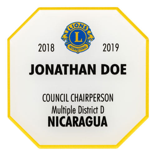 COUNCIL CHAIRPERSON BADGE
