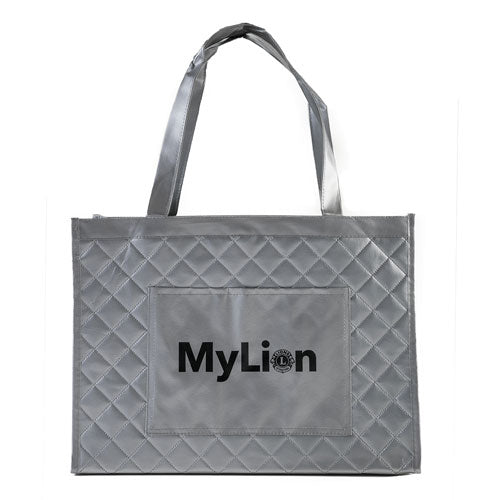 MYLION SILVER TOTE