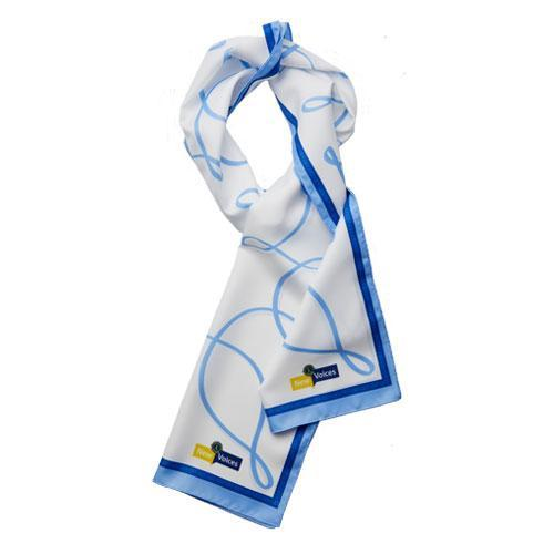 NEW VOICES POLYESTER SCARF