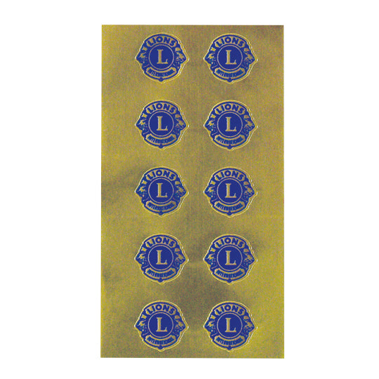EMBOSSED SEALS 100/PACKAGE