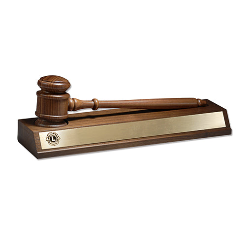 GAVEL ON BASE