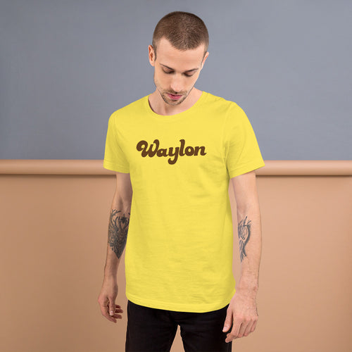 Unisex Logo T-Shirt Yellow