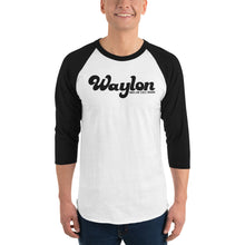 Load image into Gallery viewer, Unisex 3/4 Sleeve Baseball Tee