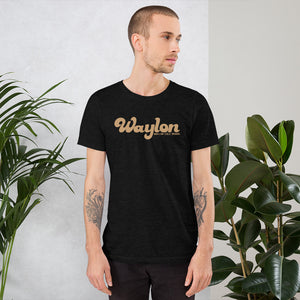 Unisex Signature Logo Tee Heather Black