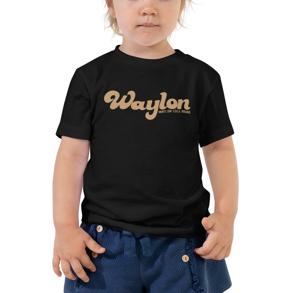Toddler Logo Tee Black