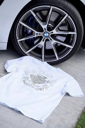 "412 ""Junk Yard"" Shirt (White)"