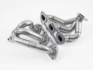 AWE PERFORMANCE HEADER SET - PORSCHE 997.2 TURBO / S