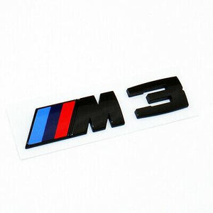 "E92 M3 - GLOSS BLACK ""M3"" BADGE"