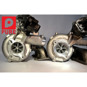 PURE STAGE 2 UPGRADE TURBOS - BMW S55