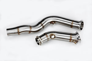VRSF CATLESS DOWNPIPE CAST STAINLESS STEEL - BMW M3, M4 2015-2019