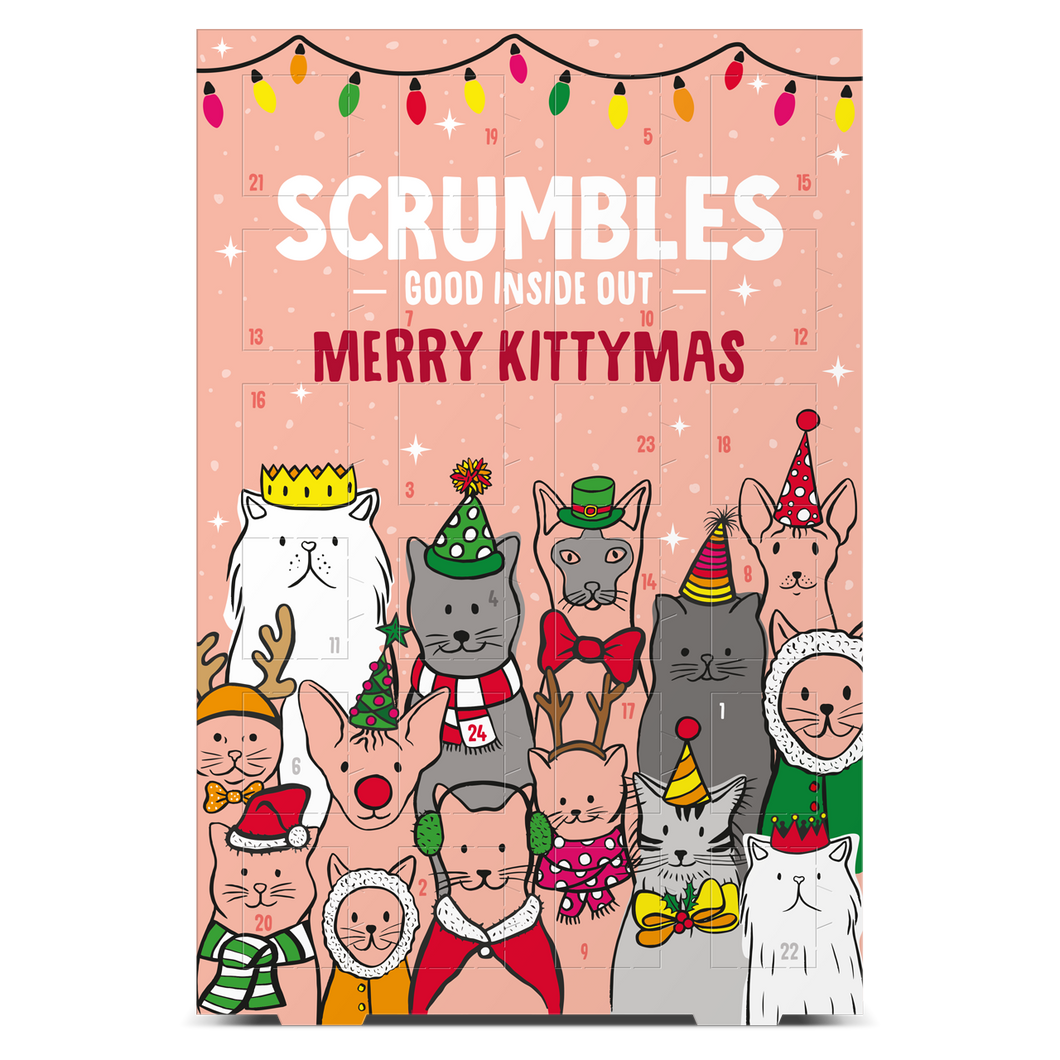 Scrumbles Advent Calendars for Cats