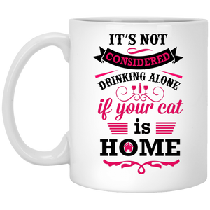 Not Considered Drinking Alone White Mug
