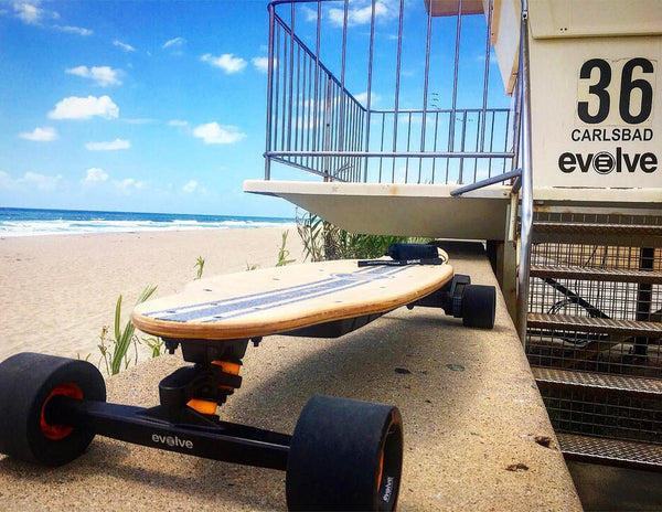 evolve commuter skateboard