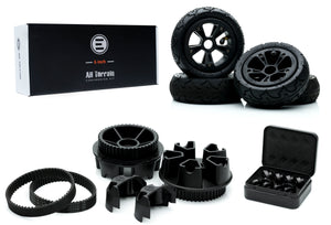 Tired of the beaten path? Then blaze your own with the Evolve AT using the Evolve All Terrain Conversion Kit 6