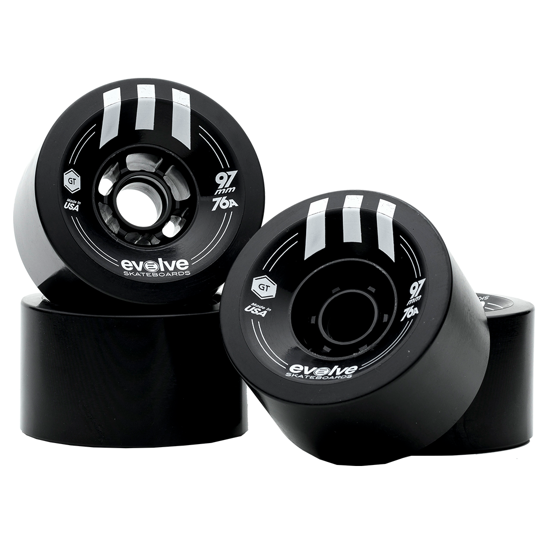 Evolve GTR Street Wheels (97mm, 76a) - Multiple Colors