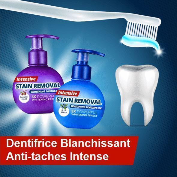 dentifrice Blanchissant naturel