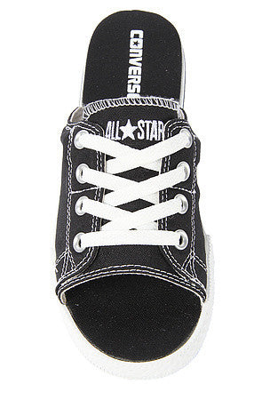 98a125169aa The Chuck Taylor All Star Cutaway EVO Canvas Sandal in Black ...