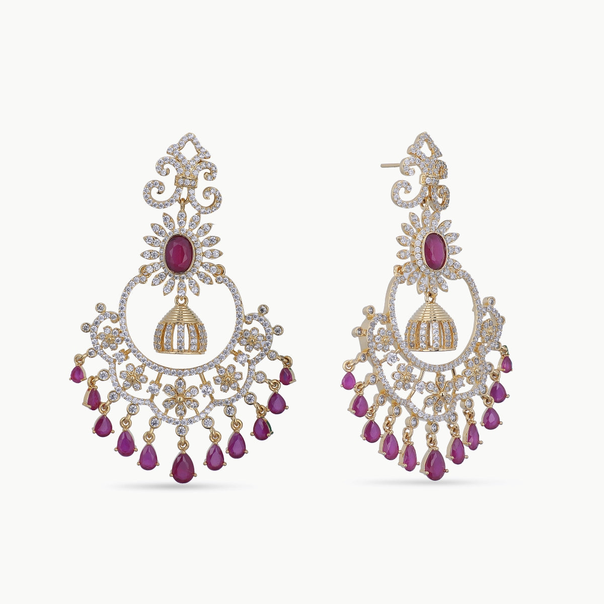 Nainika Nakshatra CZ Earrings