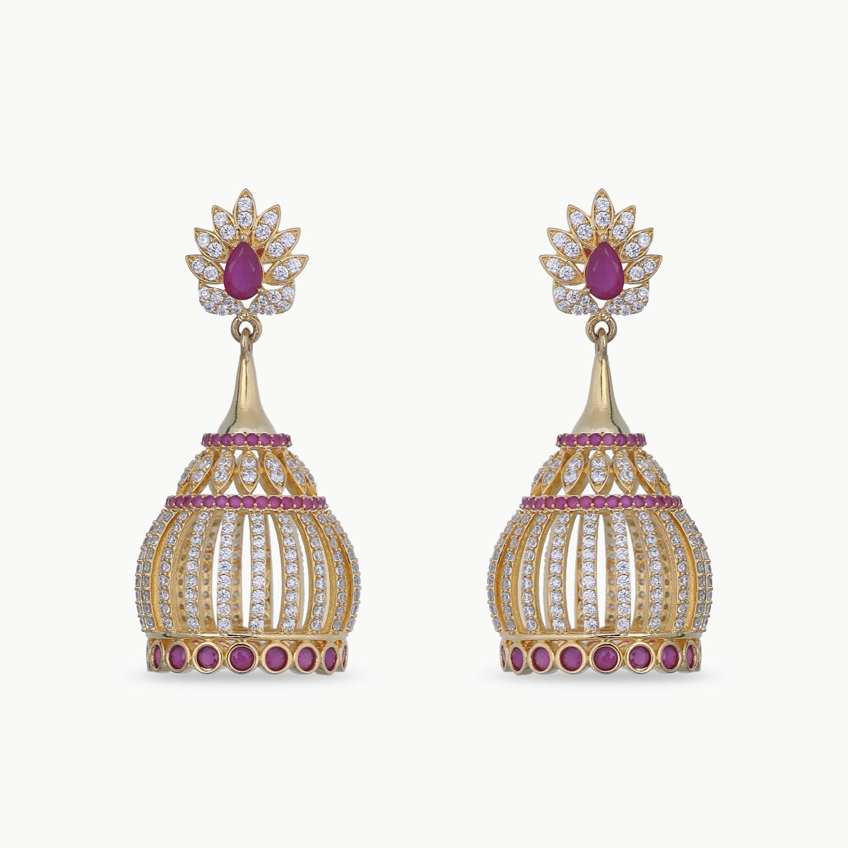Sanya Nakshatra CZ Earrings