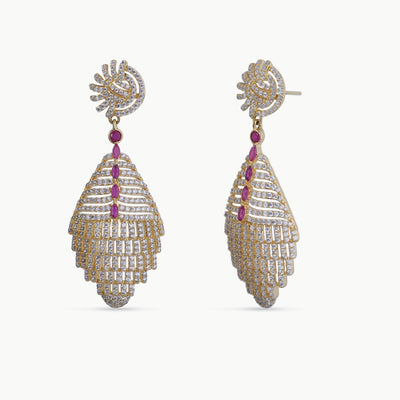 Dipra Nakshatra CZ Earrings