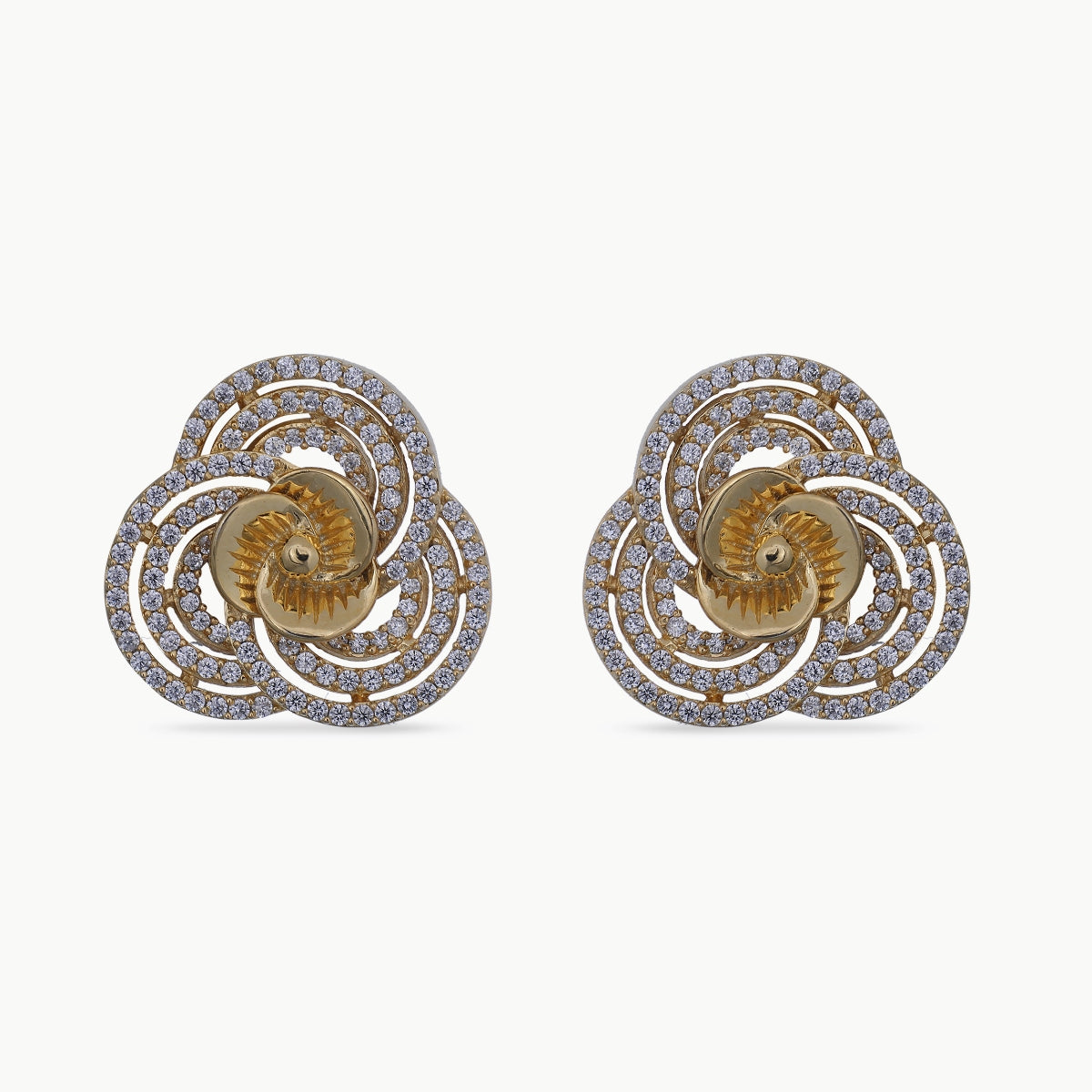 Christina Nakshatra CZ Earrings