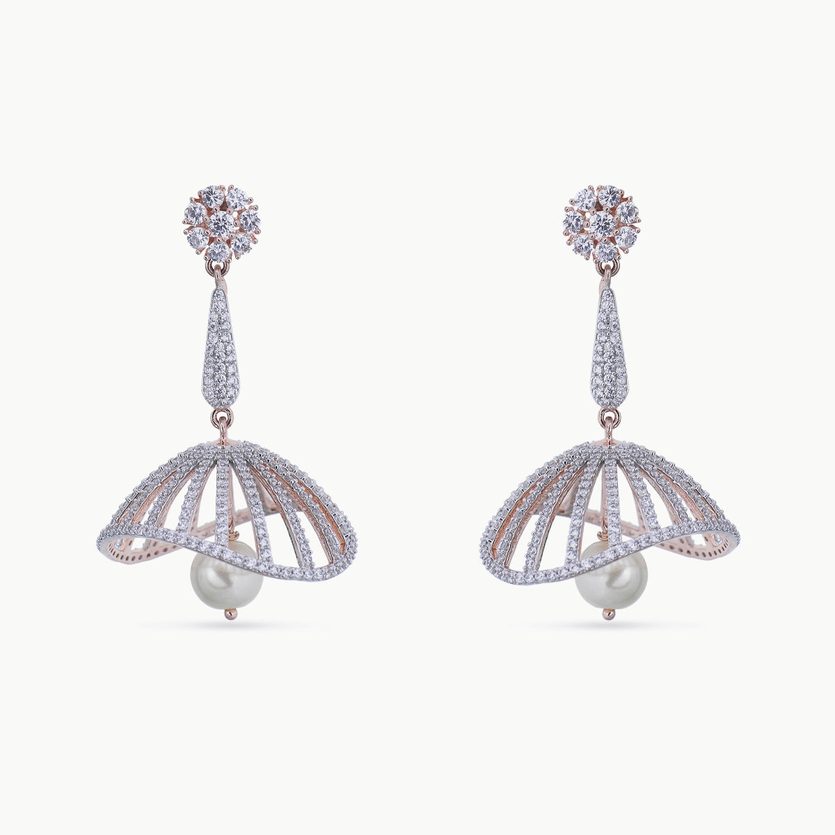 Eshika Nakshatra CZ Earrings