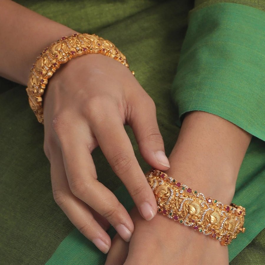 Arha Antique Bangles by Tarinika