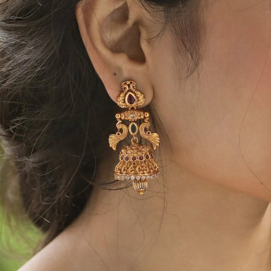 Prerit Antique Earrings by Tarinika