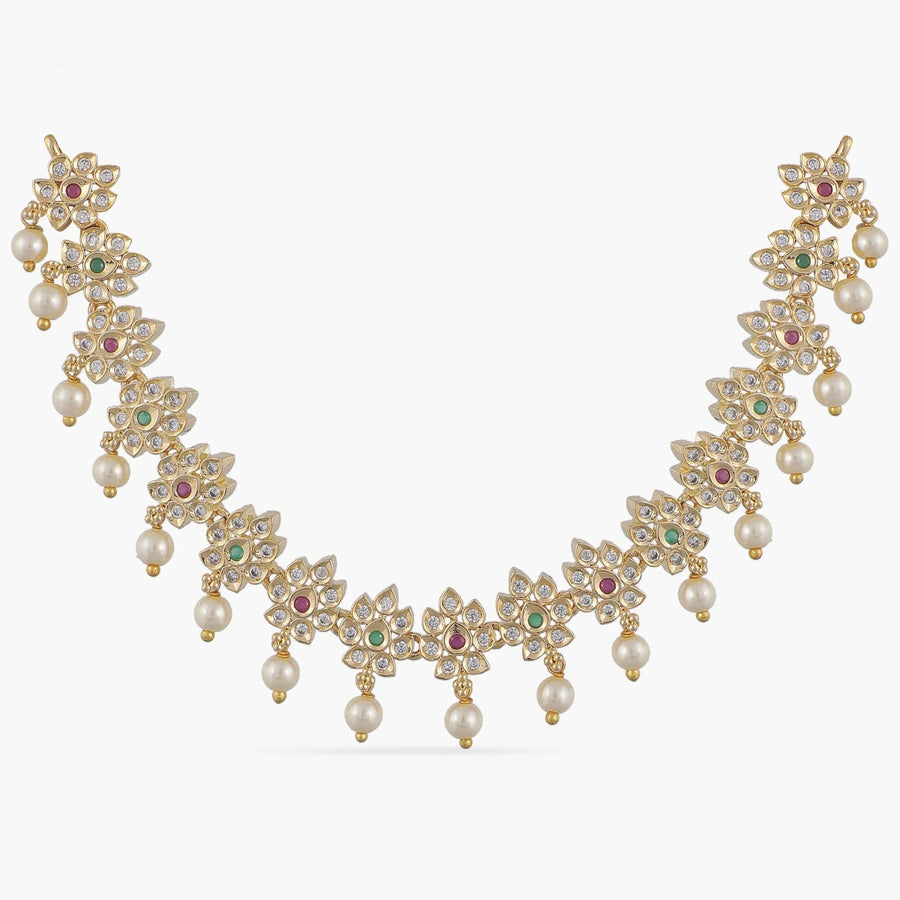Maryam Nakshatra CZ Kids Necklace