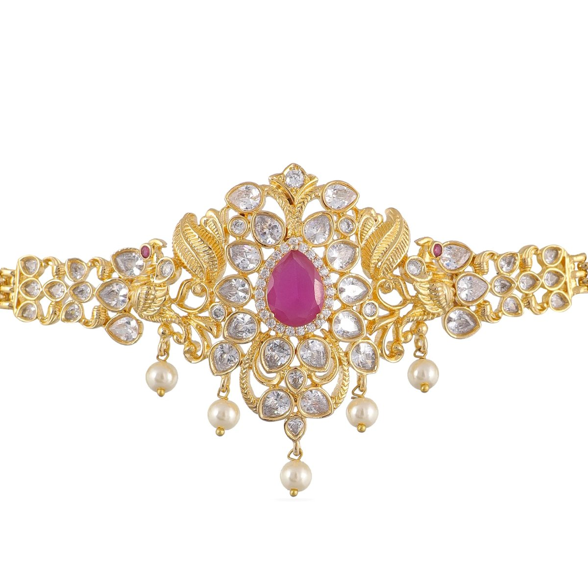 Angel Nakshatra CZ Kids Necklace