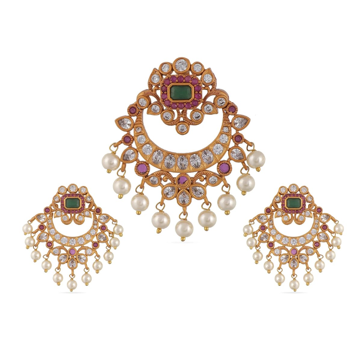 Dhun Antique Pendant Set