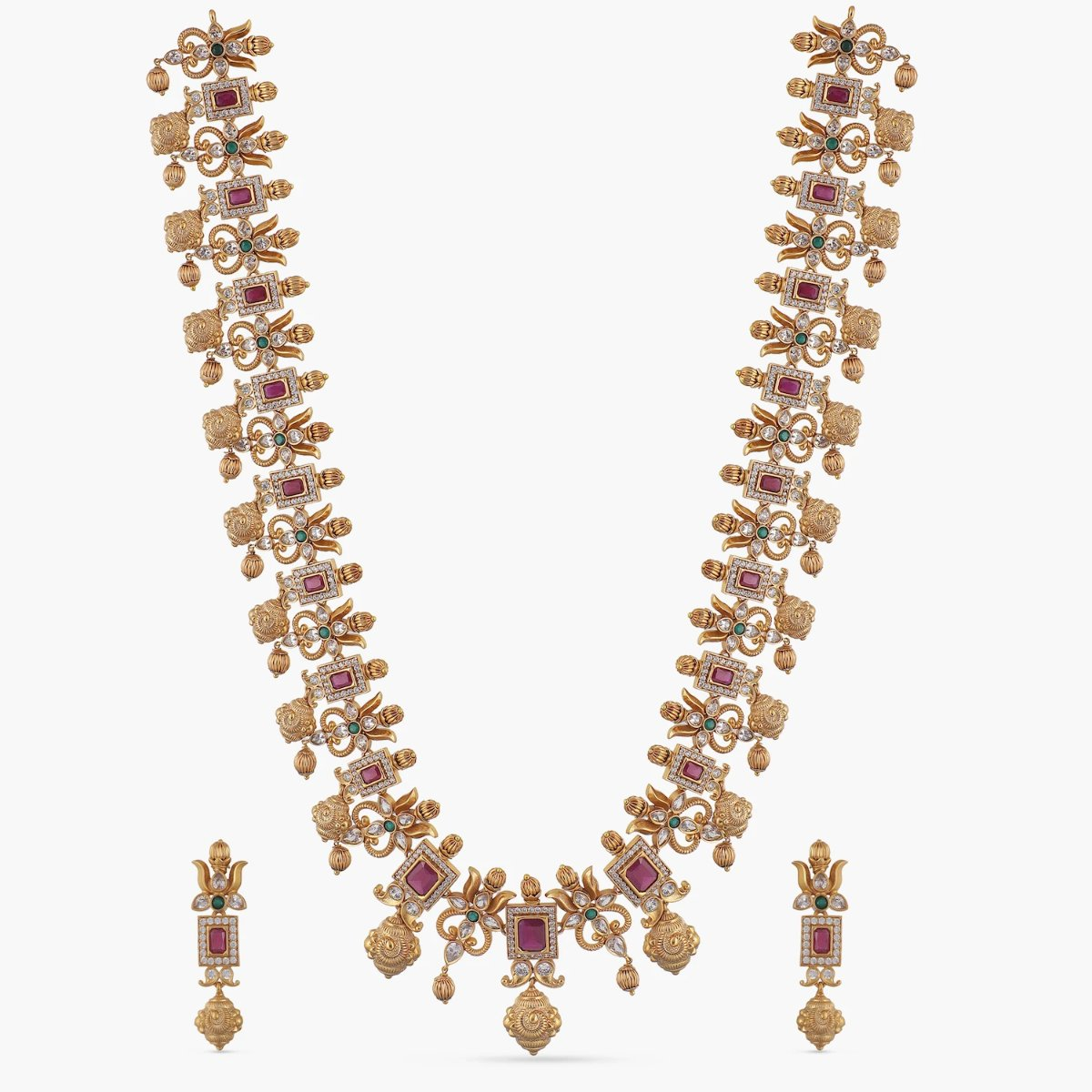 Ahaana Antique Long Necklace Set