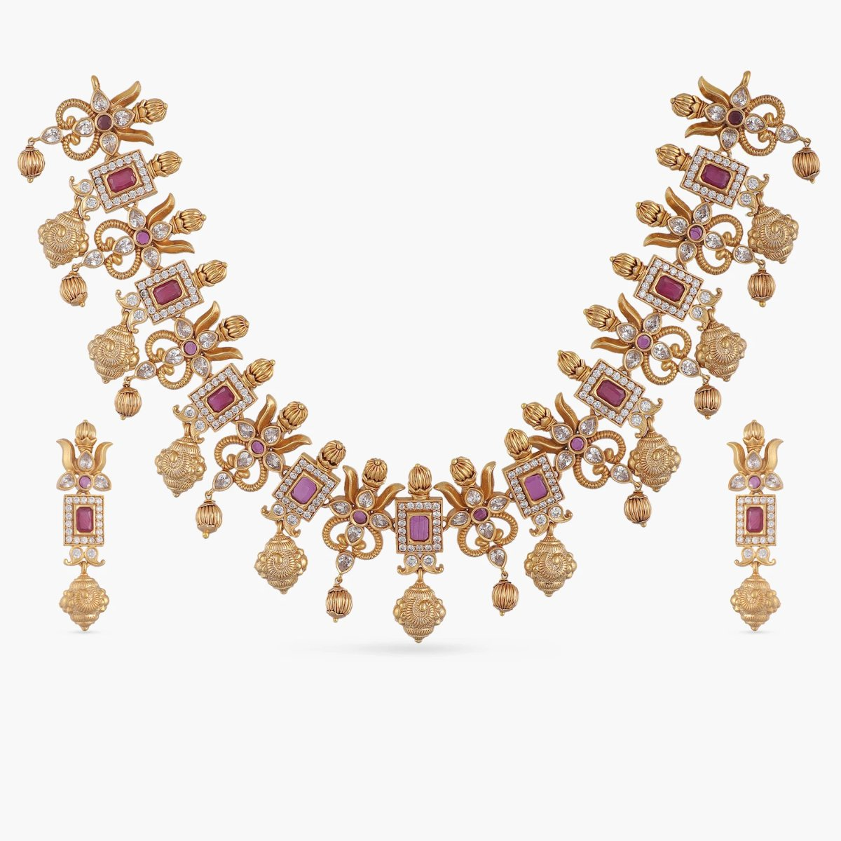 Ahaana Antique Necklace Set