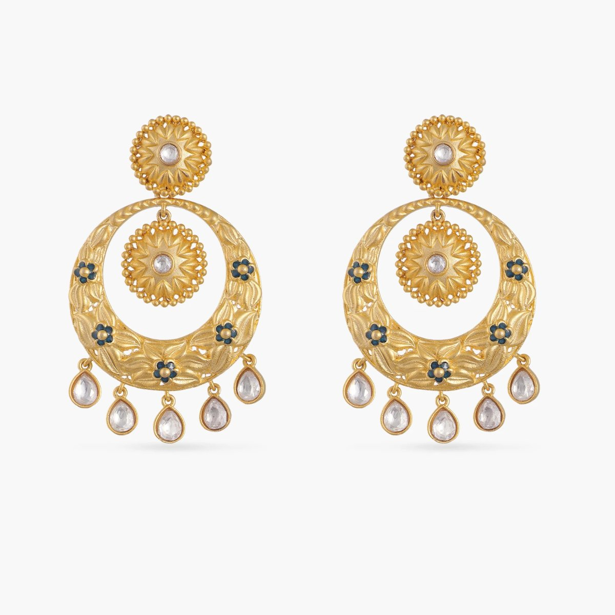 Gulika Kundan Earrings