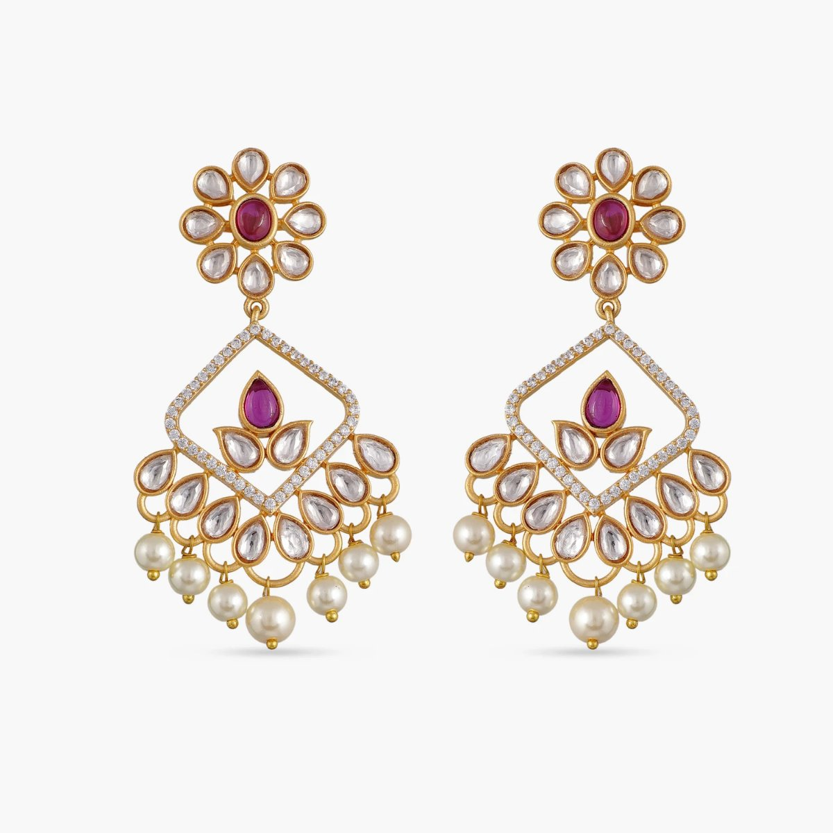 Raya Kundan Earrings