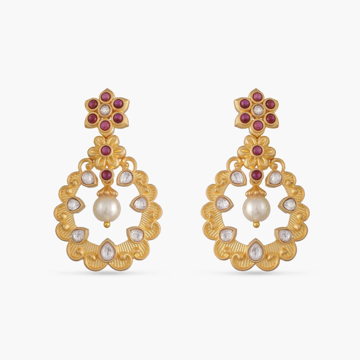 Rhia Kundan Earrings