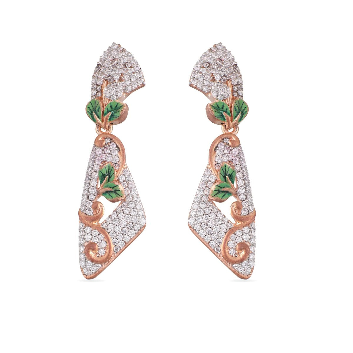 Zil Nakshatra CZ Earrings